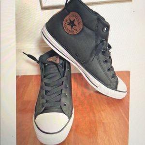 Converse Ct Mid Black New w/ box men size 10